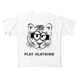 TIGER ③ Full graphic T-shirts