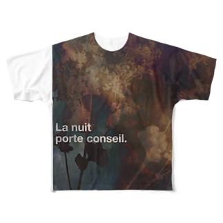 La nuit porte conseil. Full graphic T-shirts