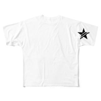 スター Full graphic T-shirts