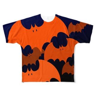 フルグラフィックコウモリ Full graphic T-shirts