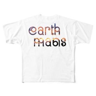 earthmans  sunset Full graphic T-shirts