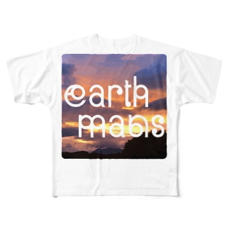 earthmans sunset all Full graphic T-shirts