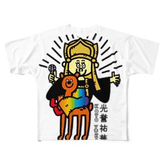 光誉祐華×太画子のコラボT Full graphic T-shirts