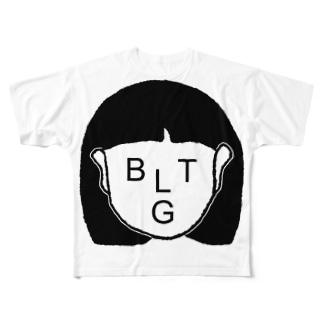 差別反対 Full graphic T-shirts