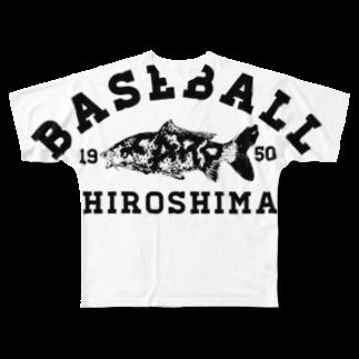 mrdoinkのHIROSHIMA BASEBALL  Full graphic T-shirts