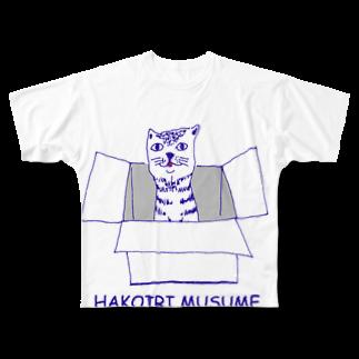 NIKORASU GOの箱入り娘 Full graphic T-shirts