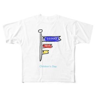 こどものひ Full graphic T-shirts