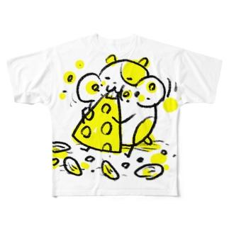 ネズミ Full graphic T-shirts