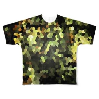 時空迷彩 Full graphic T-shirts