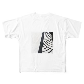 欄干の影 Full graphic T-shirts