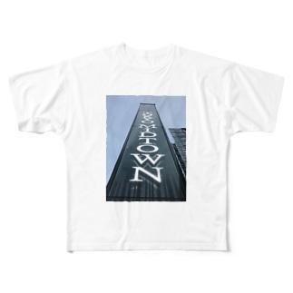ミッドタウン Full graphic T-shirts