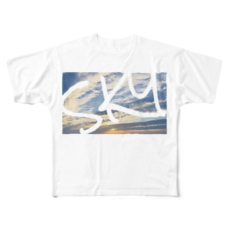 SKY Full graphic T-shirts