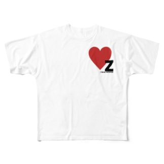 Z.LOVE Full graphic T-shirts