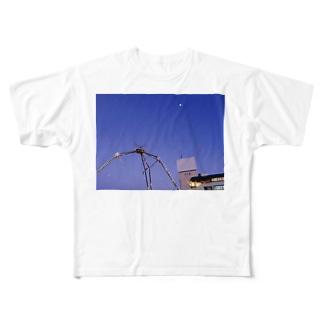 スプロール現象 Full graphic T-shirts