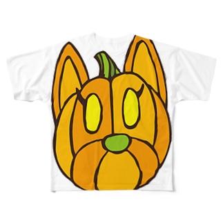 クッキーパンプキン Full graphic T-shirts