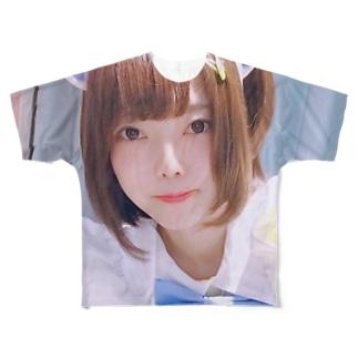 かえる Full graphic T-shirts