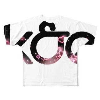 k&e Full graphic T-shirts