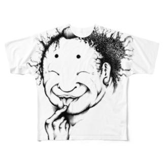 安倍平men Full graphic T-shirts