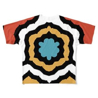 flower Full Graphic T-Shirt