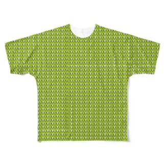 かえるのなおたろう Full graphic T-shirts