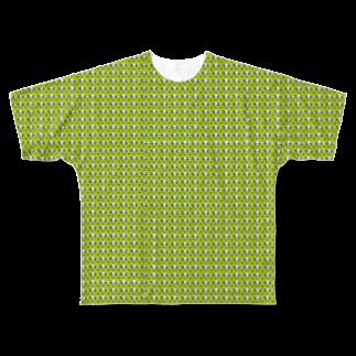 かえるのなおたろうのかえるのなおたろう Full graphic T-shirts