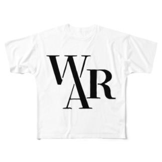 WARBOTグッズ Full graphic T-shirts