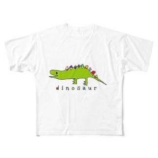 dinosaur Full graphic T-shirts