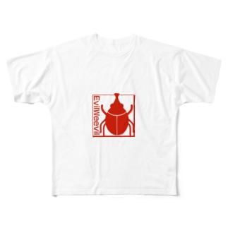 吸血ゾウムシ Full graphic T-shirts