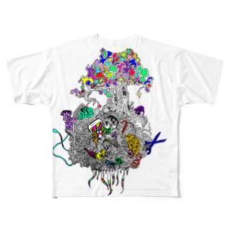 ユメモノガタリ Full graphic T-shirts