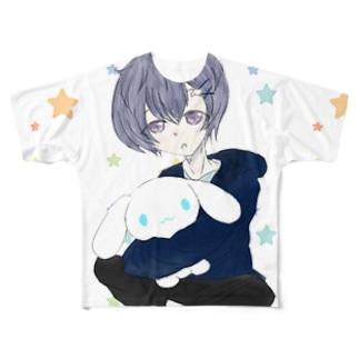 奏音推しbigT Full graphic T-shirts