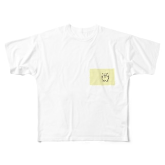 すんねこ ツー Full graphic T-shirts