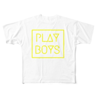 PLAY BOYS Full graphic T-shirts