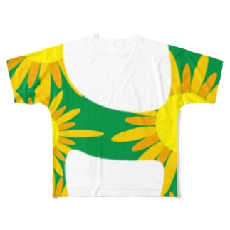 himawari Full graphic T-shirts