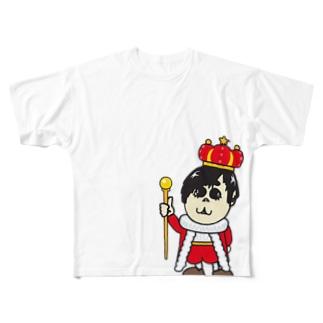 あらKING Full graphic T-shirts
