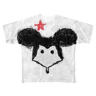 マーウス君 Full graphic T-shirts