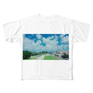 さーちゃん💓の沖縄の風景💓 Full graphic T-shirts