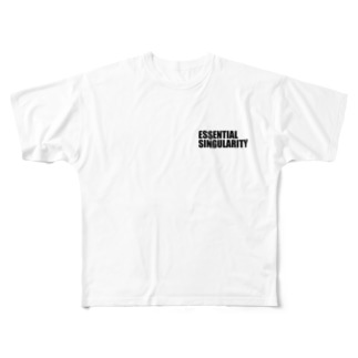 ESSENTIAL SINGULARITY Full graphic T-shirts
