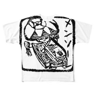 メンソーレ[ようこそ] Full graphic T-shirts