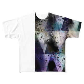 Triangle Full graphic T-shirts