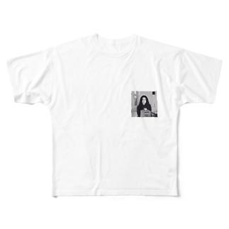 ヨーコ・オノ Full graphic T-shirts