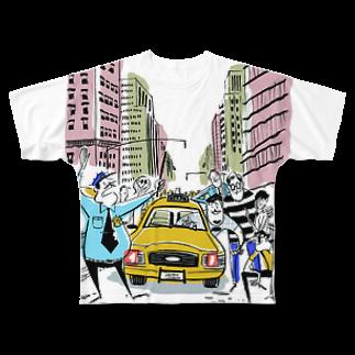 Seto HiroakiのDucks Full graphic T-shirts