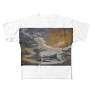春飆(しゅんびょう) Full graphic T-shirts