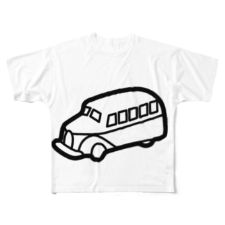 retro-Bus Full graphic T-shirts