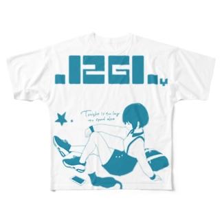 ゼログラフィティTシャツ Full graphic T-shirts