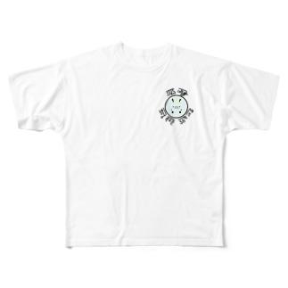 龍くん(ブルー) Full graphic T-shirts