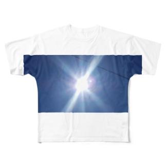 太陽サンサン Full graphic T-shirts