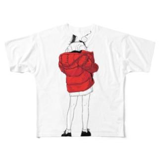 ガム女2019 Full graphic T-shirts