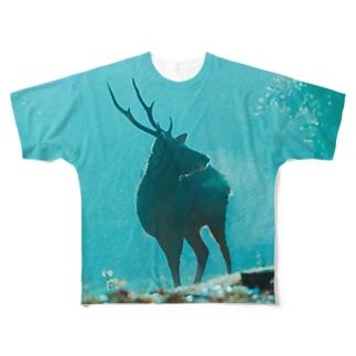 ツノ Full graphic T-shirts