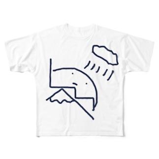 Mt.rainyさん Full graphic T-shirts
