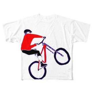 MTBデザイン「RIDE」 Full graphic T-shirts